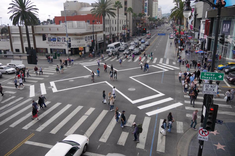 Pedestrian counts