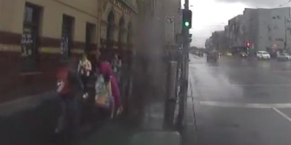 Pedestrian Counts 0077